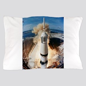 Apollo 11 launch Pillow Case