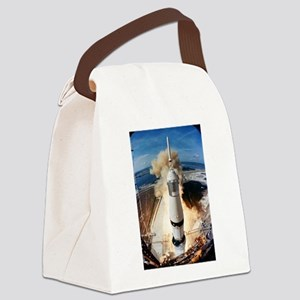 Apollo 11 launch Canvas Lunch Bag