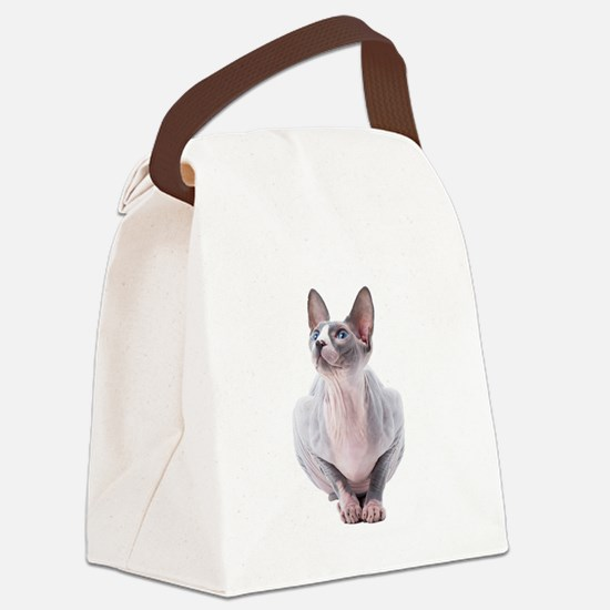 Sphynx Mania Canvas Lunch Bag