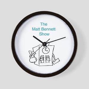 Time Clock Matt Bennett Show Wall Clock
