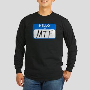 MTF Long Sleeve Dark T-Shirt