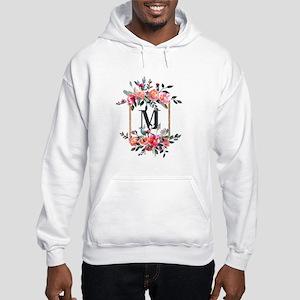 Feminine Floral Monogram Sweatshirt