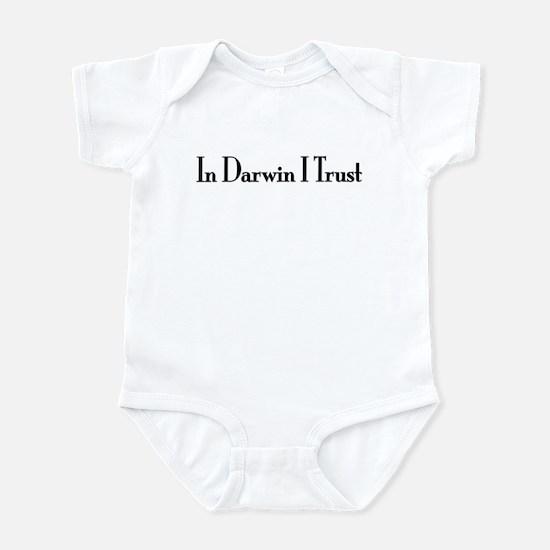 In Darwin I Trust Infant Bodysuit