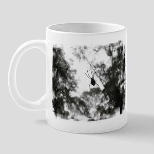 Australian Spider (Black & Wh Mug