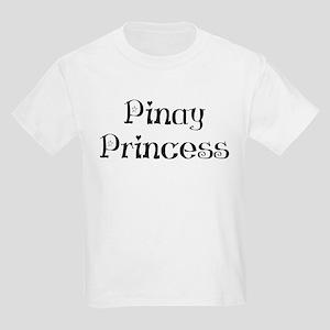 Pinay Princess Kids Light T-Shirt