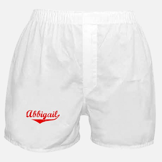 Abbigail Vintage (Red) Boxer Shorts