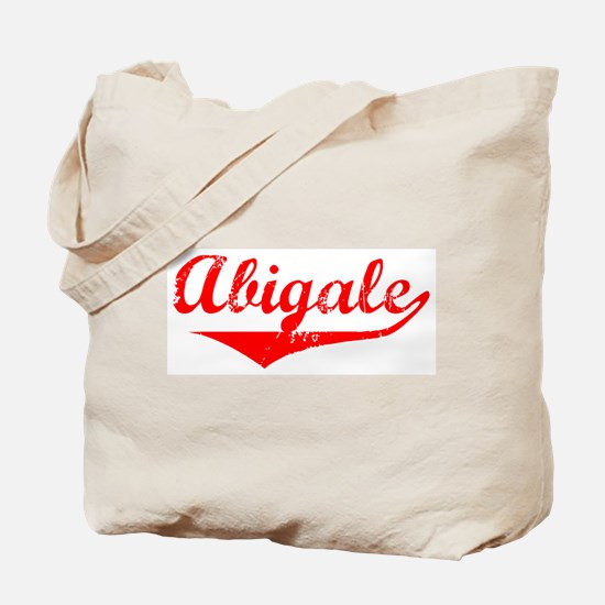 Abigale Vintage (Red) Tote Bag