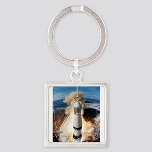 Apollo 11 launch Keychains