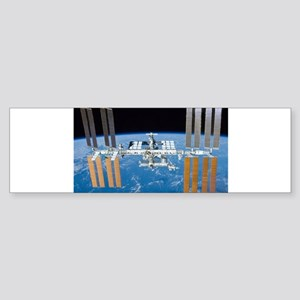 ISS, international space station Bumper Sticker
