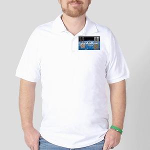 ISS, international space station Golf Shirt