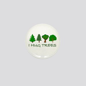 I Hug Trees Mini Button