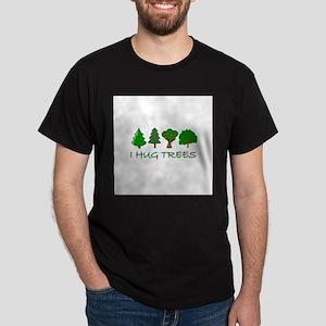 I Hug Trees Dark T-Shirt