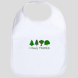 I Hug Trees Bib
