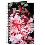 Gratitude Geranium Journal
