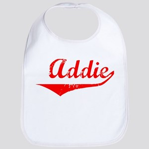 Addie Vintage (Red) Bib