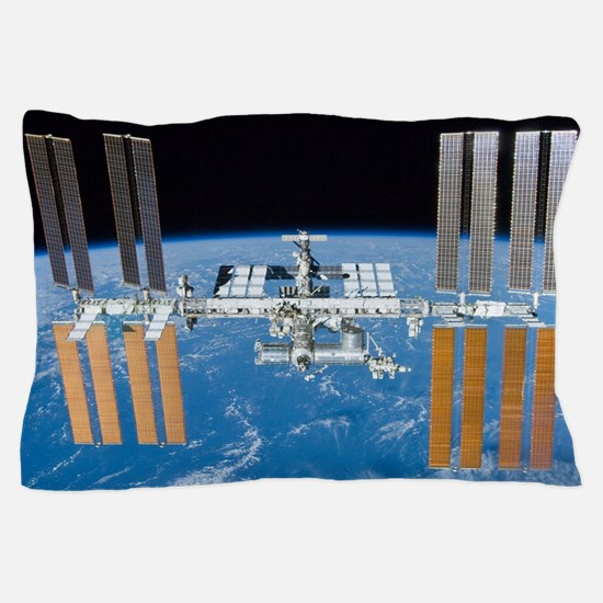 ISS, international space station Pillow Case