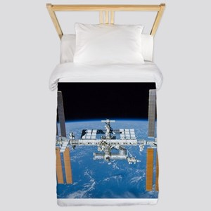 ISS, international space station Twin Duvet