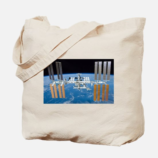 ISS, international space station Tote Bag