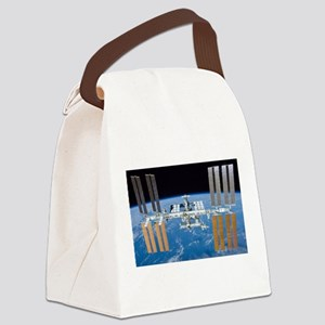 ISS, international space station Canvas Lunch Bag