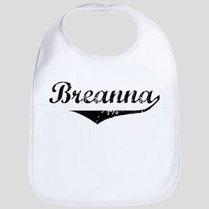 Breanna Vintage (Black) Bib