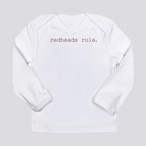 redheads rule-1 Long Sleeve T-Shirt