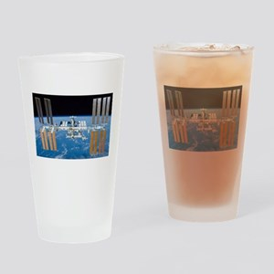 ISS, international space station Drinking Glass