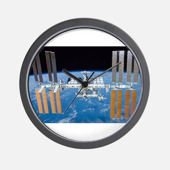 ISS, international space station Wall Clock