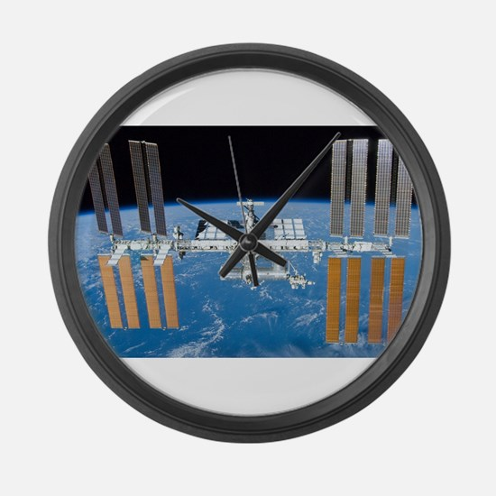 ISS, international space station Large Wall Clock