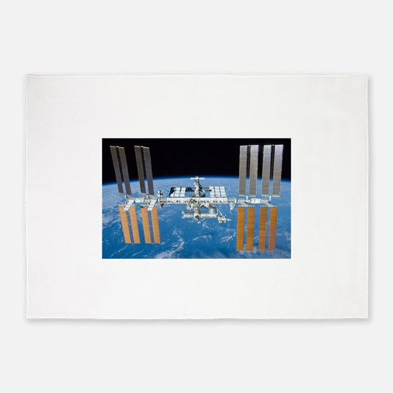 ISS, international space station 5'x7'Area Rug
