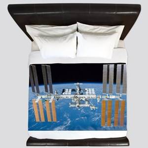 ISS, international space station King Duvet