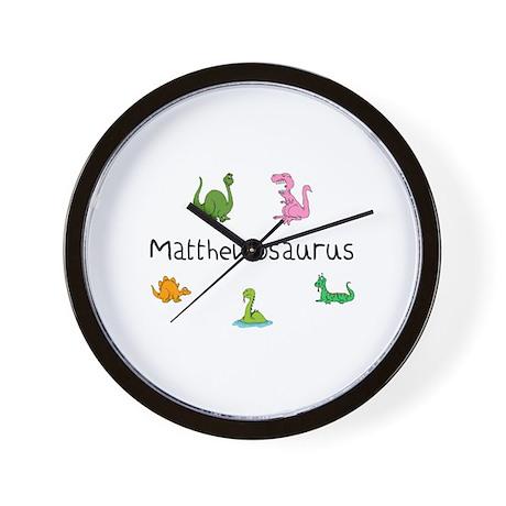 Matthewosaurus Wall Clock