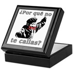 Hugo Chavez Shut Up! Keepsake Box