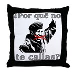 Hugo Chavez Shut Up! Throw Pillow