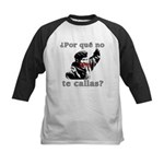 Hugo Chavez Shut Up! Kids Baseball Jersey