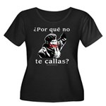 Hugo Chavez Shut Up! Women's Plus Size Scoop Neck