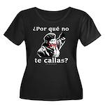 Hugo Chavez Shut Up! Women's Plus Size Scoop Neck