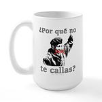 Hugo Chavez Shut Up! Large Mug