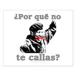 Hugo Chavez Shut Up! Small Poster
