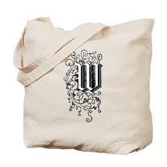 Letter W Tote Bag