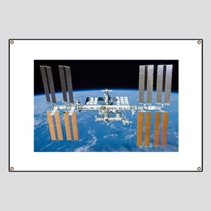 ISS, international space station Banner