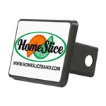 Logo With Large Url Rectangular Hitch Cover