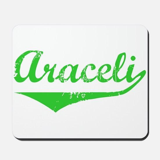 Araceli Vintage (Green) Mousepad