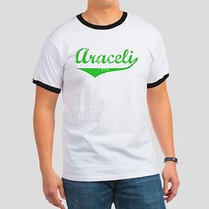 Araceli Vintage (Green) Ringer T