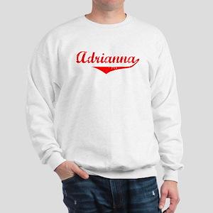 Adrianna Vintage (Red) Sweatshirt