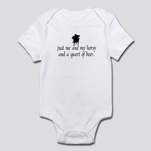 Horsy Infant Bodysuit