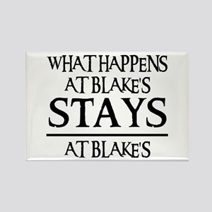 STAYS AT BLAKE'S Rectangle Magnet