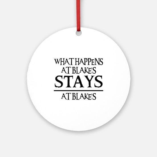 STAYS AT BLAKE'S Ornament (Round)