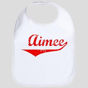 Aimee Vintage (Red) Bib