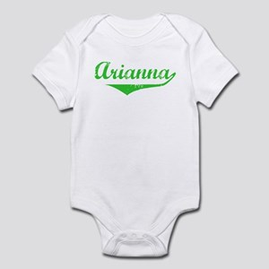 Arianna Vintage (Green) Infant Bodysuit
