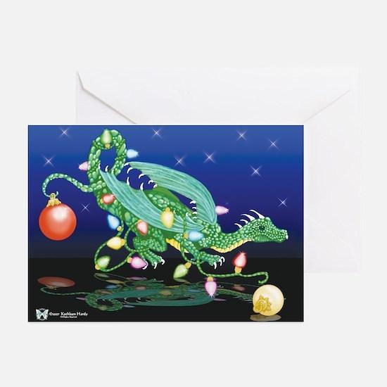 Christmas Dragon Holiday Cards (Pk of 10)